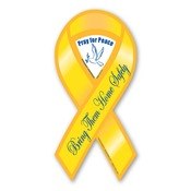 "Bring Them Home Safely 8"" Ribbon Magnet"