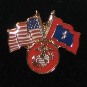 USMC Veterans Flag Pin