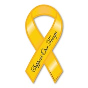 "Support our Troops 8"" Ribbon Magnet"