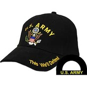 US Army Cap - discontinued item - limited availability