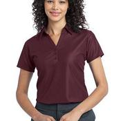 Ladies Vertical Pique Polo