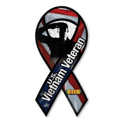 "US Vietnam Veteran 8"" Ribbon Magnet"