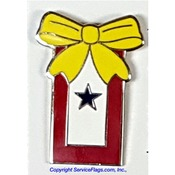 Service Ribbon Pin