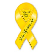 "Keep My Sister Safe 8"" Ribbon Magnet"
