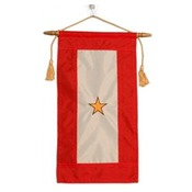 Embroidered Nylon Gold Star Service Flag