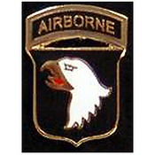 101st Airborne Pin 3/4""