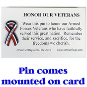 Honor Our Veterans Pin