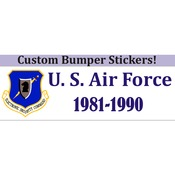 Bumper Sticker 3X10 Inch Custom