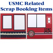 USMC Scrap Book Pages