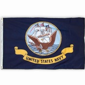 US Navy Flag, Nylon 2 X 3