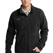 Wind Resistant Full Zip Fleece Jacket