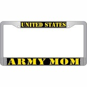 US Army Mom License Plate Frame