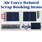 USAF Scrap Book Pages