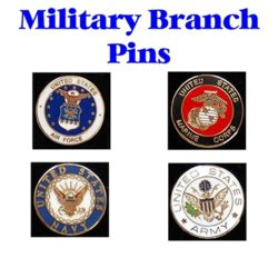 Military Branch Pins Thumbnail