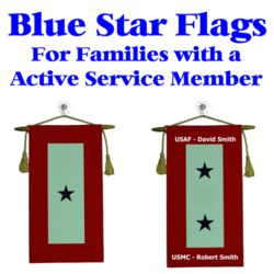 Blue Star Service Flags Thumbnail