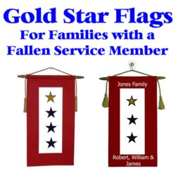 Gold Star Service Flags Thumbnail