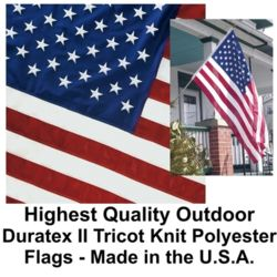 Duratex II Tricot Knit Polyester U.S. Flag Thumbnail