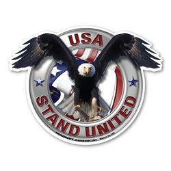 USA Flag Ribbon Magnets Thumbnail