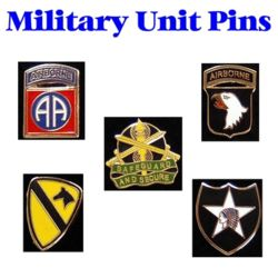 Military Unit Pins Thumbnail