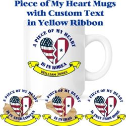 Piece of My Heart Mugs Thumbnail