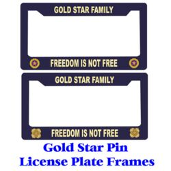 Gold Star License Frames Thumbnail