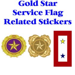 Gold Star Related Stickers Thumbnail