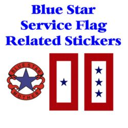 Blue Star Related Stickers Thumbnail