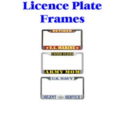 Licence Plate Frames Thumbnail