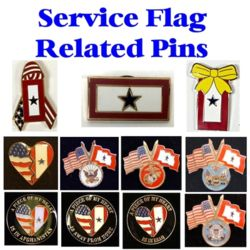 Service Flag Related Pins Thumbnail