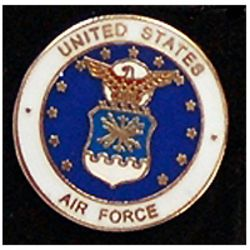 US Air Force Branch Pin 3/4