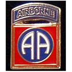 82nd Airborne Pin 3/4