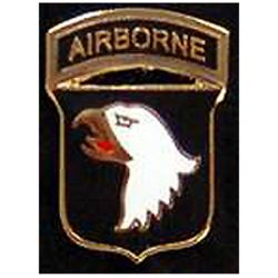 101st Airborne Pin 3/4