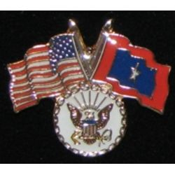 Navy Veterans Flag Pin Thumbnail