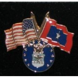 Air Force Veterans Flag Pin Thumbnail