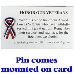 Honor Our Veterans Pin Thumbnail