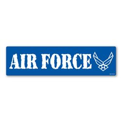 Air Force Bumper Strip Magnet Thumbnail