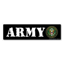 Army Bumper Strip Magnet Thumbnail