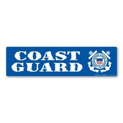 Coast Guard Bumper Strip Magnet Thumbnail