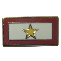 Gold Star Service Lapel Pin Thumbnail