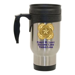 Stainless Steel Travel Mug with Next of Kin Design Thumbnail