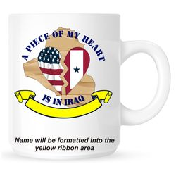 Piece of My Heart is in Iraq Mug Thumbnail