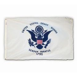 US Coast Guard Flag, Nylon 3 X 5 Thumbnail