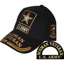 US Army Woman Veteran Cap Thumbnail