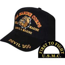 USMC Devil Dog Cap  Thumbnail