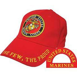 USMC - Red Cap- The Few The Proud Thumbnail