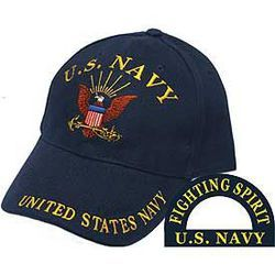 US Navy Cap (Fighting Spirit) Thumbnail