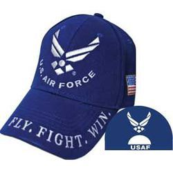 US Air Force Cap (Fly, Fight, Win) Thumbnail