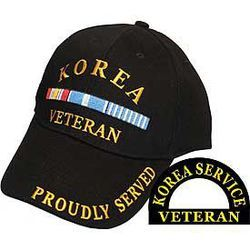 Korean Service Veteran Cap Thumbnail