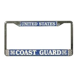 US Coast Guard License Plate Frame (Limited Availability) Thumbnail