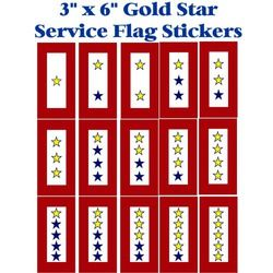 Gold Star Service Flag 6
